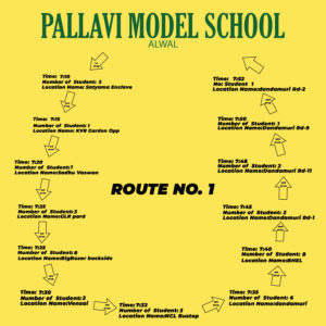 PMS Alwal ROUTE NO. 1