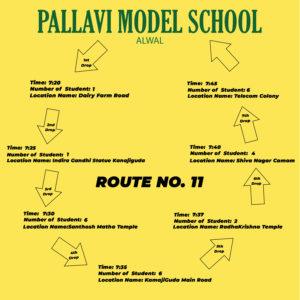 PMS Alwal ROUTE NO. 11