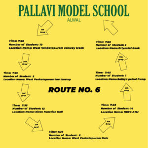 PMS Alwal ROUTE NO. 6
