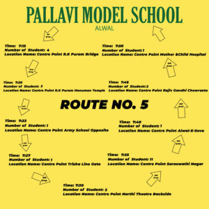 PMS Alwal ROUTE NO. 5